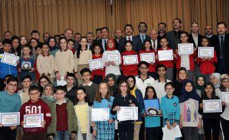 Gümüşkod Merkez İlçe yarışmaları ödül töreni yapıldı