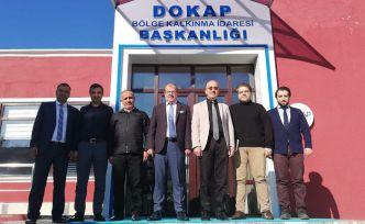 Rektör Zeybek, proje dosyasını DOKAP'a teslim etti