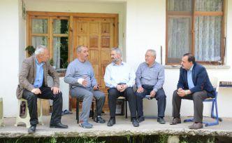 Başkan Erdoğdu, köy ziyaretlerine devam ediyor