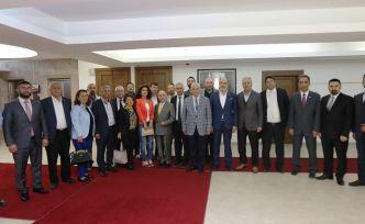 GİAD'dan Fethi Yaşar'a hayırlı olsun ziyareti