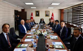 DOKA 118. Yönetim Kurulu Toplantısı Gümüşhane'de Yapıldı
