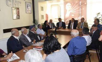 CHP Milletvekilleri Gümüşhane'de