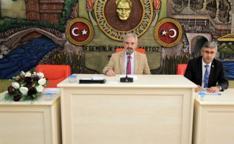 Gümüşhane İl Genel Meclisi'nin ekim ayı toplantıları sona erdi
