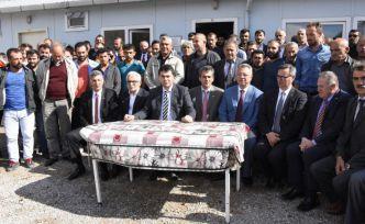 Uysal hem Suriye operasyonuna hem de maden işçilerine desteklerini açıkladı