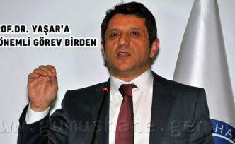 Prof.Dr. Yaşar, yeniden YÖK üyeliğine atandı