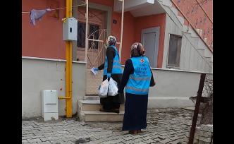 Şiran'da din görevlileri vatandaşın yanında