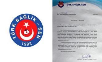 Türk Sağlık-Sen sağlık çalışanlarının ödüllendirilmesini istedi