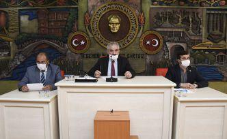 Gümüşhane İl Genel Meclisi 2 aylık aradan sonra toplandı