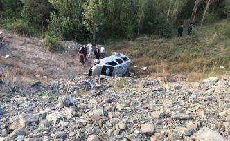 Gümüşhane'de 3 ayrı kazada 6 kişi yaralandı