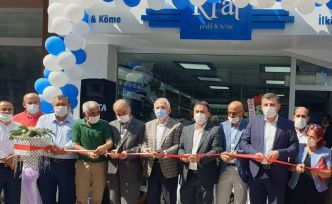 Kral Pestil satış mağazası açıldı