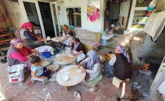 Gümüşhane köylerinde kış hazırlıkları başladı