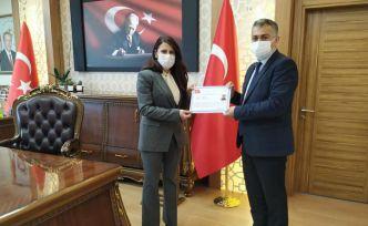 Şiran'da tüm okullara 'Okulum Temiz' belgesi verildi