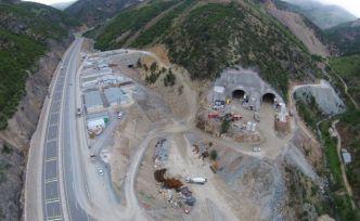 Yeni Zigana Tünelinde yüzde 78 seviyesine ulaşıldı