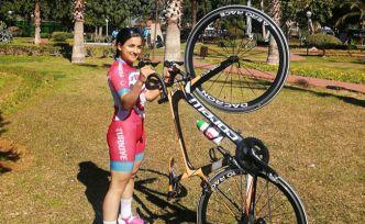 Bisiklet milli takımında bir Gümüşhaneli
