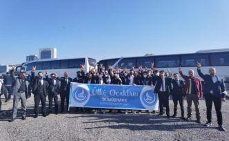 Gümüşhane Ülkü Ocaklarından Türk Gençliği Büyük Kurultayı'na çıkarma