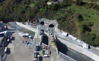 Yeni Zigana Tüneli'nde kazı işlemlerinin yüzde 94'ü tamamlandı