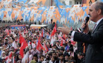AK Parti Genel Başkan Yardımcısı Numan Kurtulmuş Gümüşhane'de