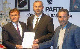 AK Parti'ye İlk Müracaat Şiran'dan