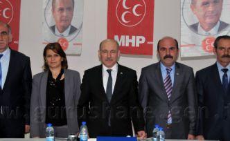 MHP, Merkez'de İl Genel Meclisi Adaylarını Açıkladı
