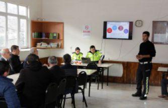 İl Özel İdaresi personeline trafik eğitimi verildi