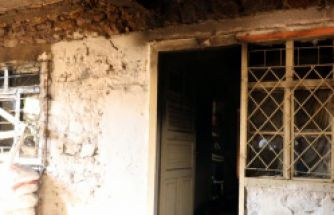 Gümüşhane'de Afganların kaldığı ev küle döndü