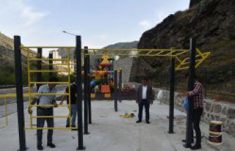 Gümüşhane Belediyesi 2 yılda 32 çocuk parkı yaptı
