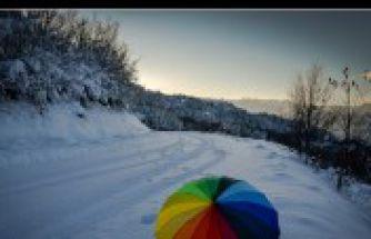 Her mevsim güzelsin ama kışın daha bir güzelsin Gümüşhane - 5 Aralık 2015