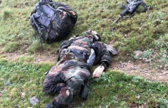 Kürtün teröristlere mezar oldu