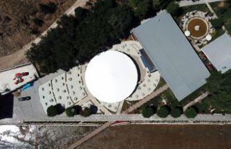 Türkiye'nin en büyük şemsiyesi Gümüşhane'de