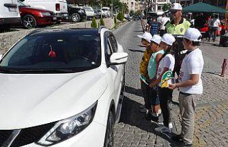 Hatalı Sürücüye Kırmızı Düdük Projesi Gümüşhane'de Başladı