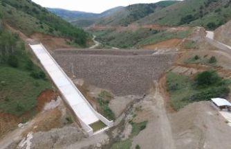 Kelkit Özlüce Barajı 4 bin 560 dekar araziyi sulayacak