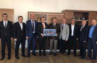 GÜDEF'ten İstanbul İl Milli Eğitim Müdürü Levent Yazıcı'ya ziyaret