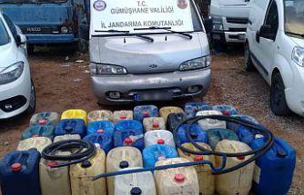 Gümüşhane'de motorin hırsızlarına suçüstü: 2 tutuklu