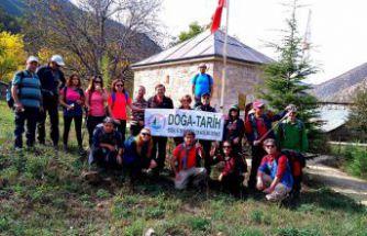 Trabzonlu doğaseverler Pirahmet köyünde