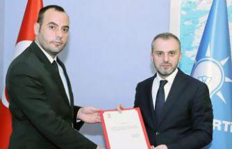 AK Parti'nin yeni Merkez İlçe Başkanı Fatih Gürses oldu