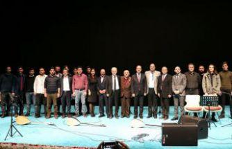 GÜ'de 'Gümüşhane'den esintiler' müzik dinletisi programı