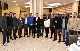 Kuveytli internet fenomenleri ve acente temsilcileri Gümüşhane'de