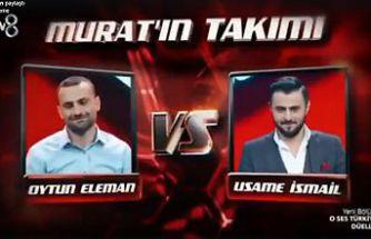 Elaman yarışmaya Hadise'nin takımında devam edecek