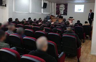 Hükümlülere bilinçli ilaç kullanımı semineri