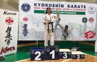 İki dalda Türkiye Şampiyonu bir Gümüşhaneli
