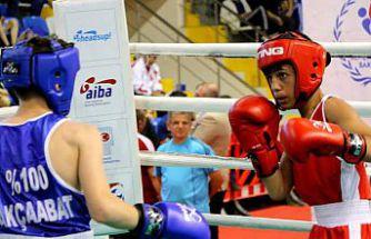Üst minikler Türkiye boks şampiyonası Gümüşhane'de