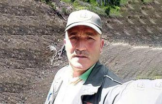 Orman Muhafaza Memuru görevi başında kalp krizi geçirdi