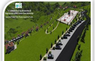 Karşıyaka Tabiat Parkı Bakan onayında