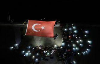 Öğrencilerden 'Barış Pınarı' harekatına destek