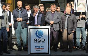 AGD'den Filistin açıklaması