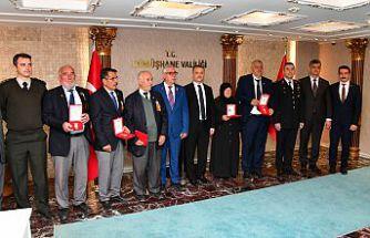 Gümüşhane'de 6 Kıbrıs gazisine daha madalya ve beratı verildi