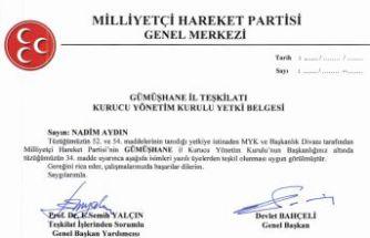 MHP'nin yeni yönetimi belirlendi