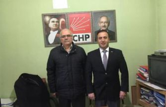 CHP Kürtün ilçe başkanı Mahmut Çağlayan oldu