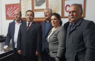 CHP'nin Torul ilçe başkanı değişti