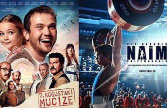 Gümüşhane'de en çok izlenen filmler Naim ve 7.Koğuştaki Mucize oldu